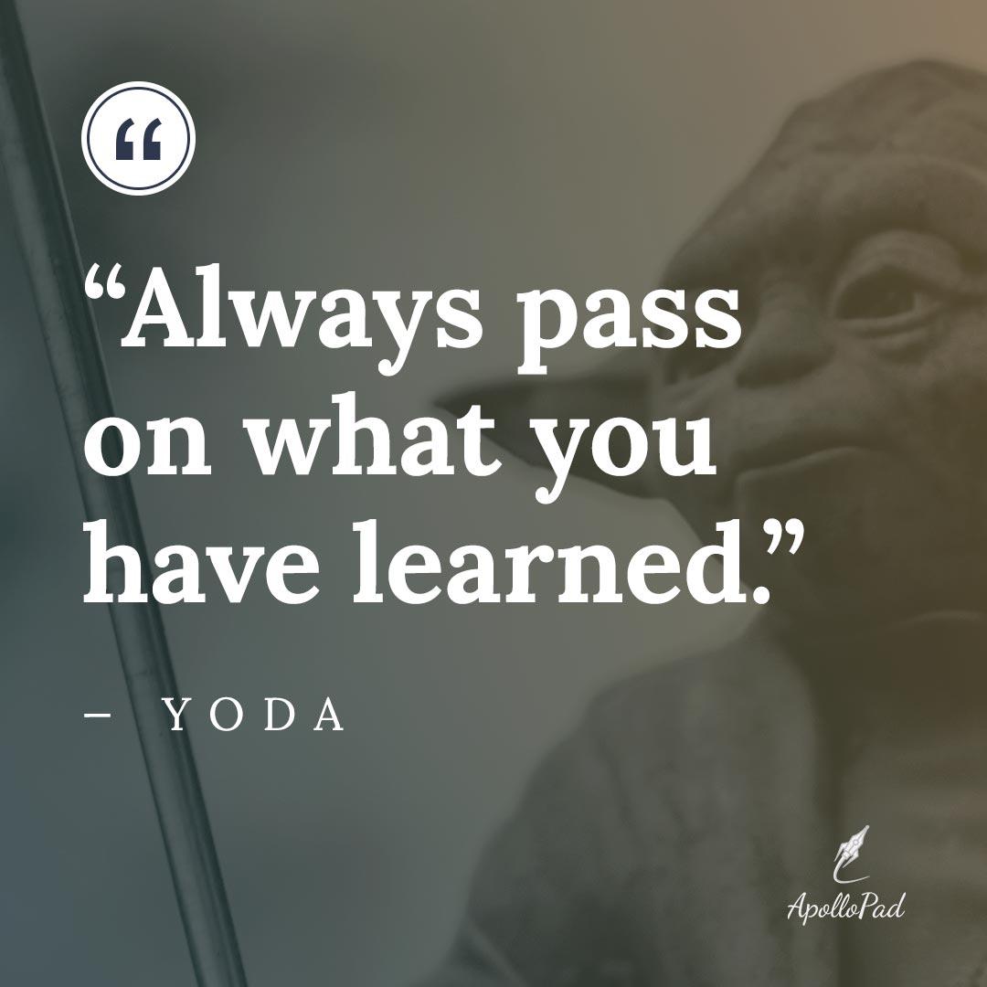 yoda quote, mentor archetype blog